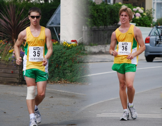 Stuart and Jason Le Noury, 2nd and 1st in Championship 2008