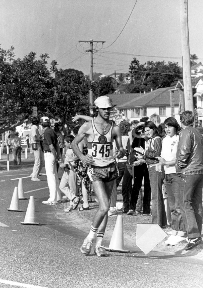 Rob Elliott Guernsey in 1982 CG