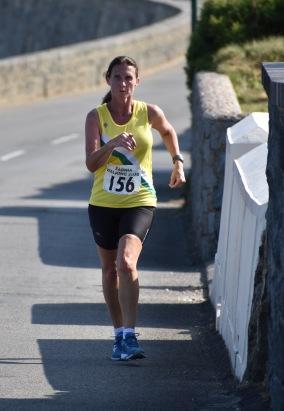 Donna Allan finish